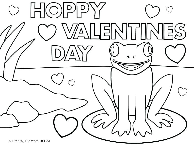788x604 Free Printable Valentines Coloring Pages Happy Day Valentine
