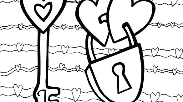 585x329 Valentine Printable Coloring Pages Free Printable Coloring Pages