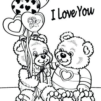 350x350 Free Printable Valentines Day Coloring Pages