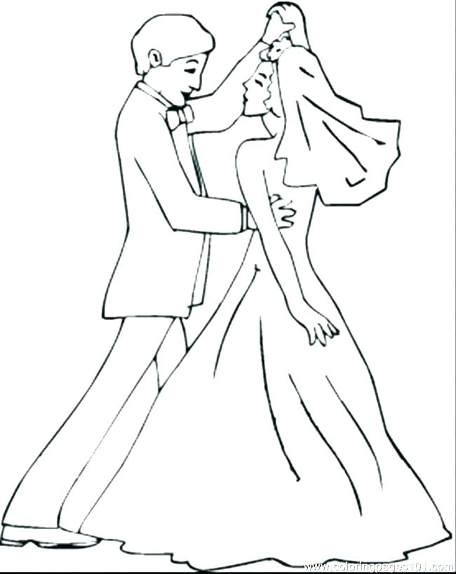 Free Printable Wedding Coloring Pages At Getdrawings Com Free For