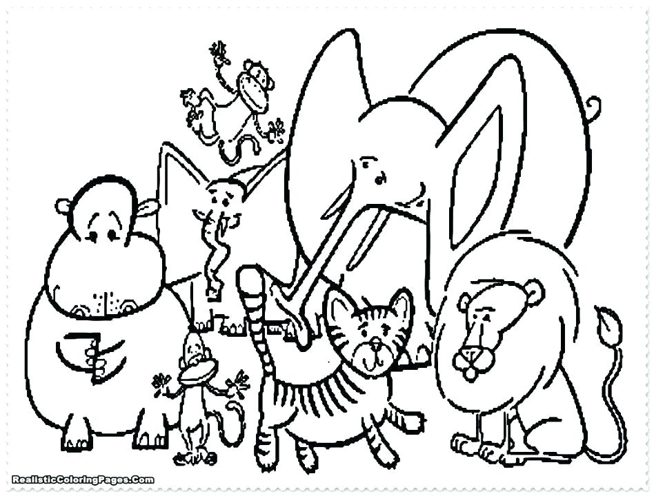 948x720 Printable Pictures Of Zoo Animals Coloring Free Printable Coloring