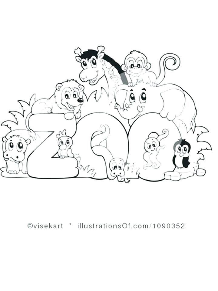 720x960 Printable Pictures Of Zoo Animals Zoo Coloring Pages Image Zoo