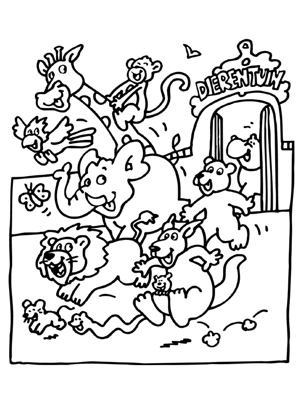 600x800 Zoo Animal Coloring Pages Elegant Free Printable Zoo Coloring