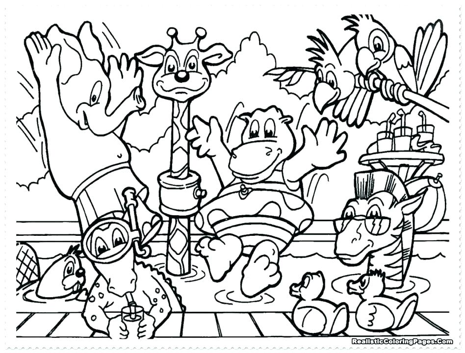 948x720 Zoo Animals For Coloring Zoo Animals Coloring Book And Baby Zoo