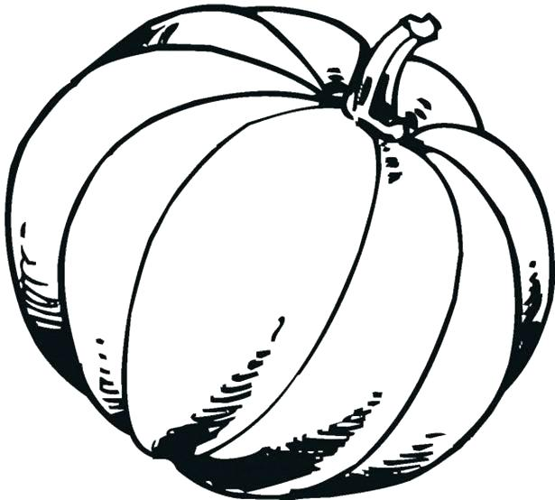 615x554 Free Pumpkin Coloring Pages Pumpkin Coloring Pages Free Pumpkin