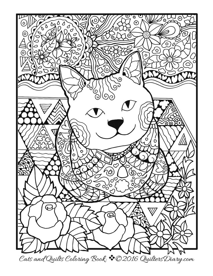 Free Quilt Coloring Pages