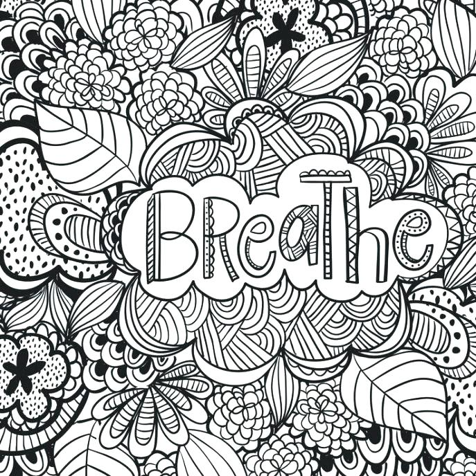 687x688 Free Printable Quote Coloring Pages For Adults Plus Quote Coloring