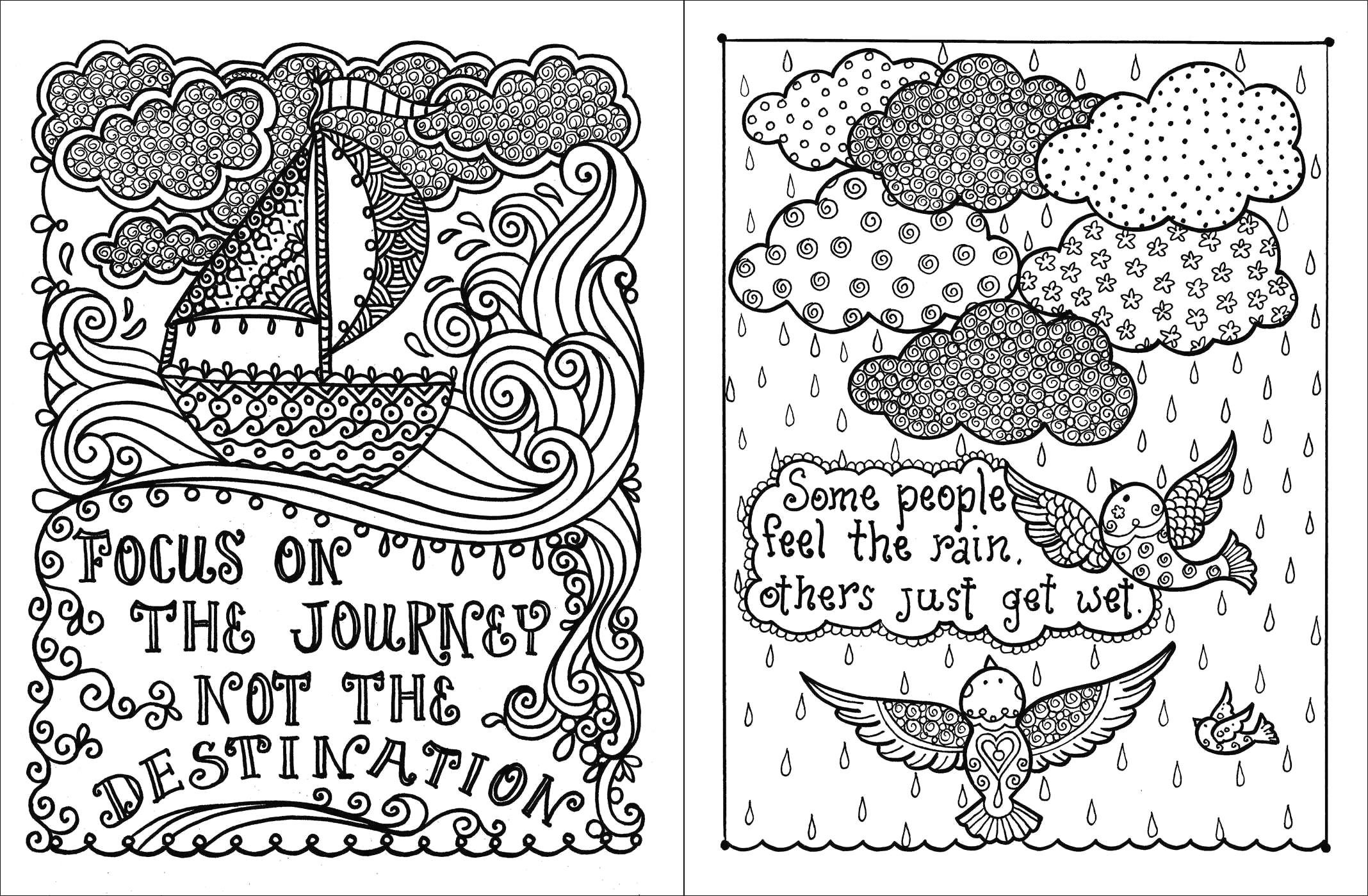 2136x1399 Inspirational Quotes Coloring Pages