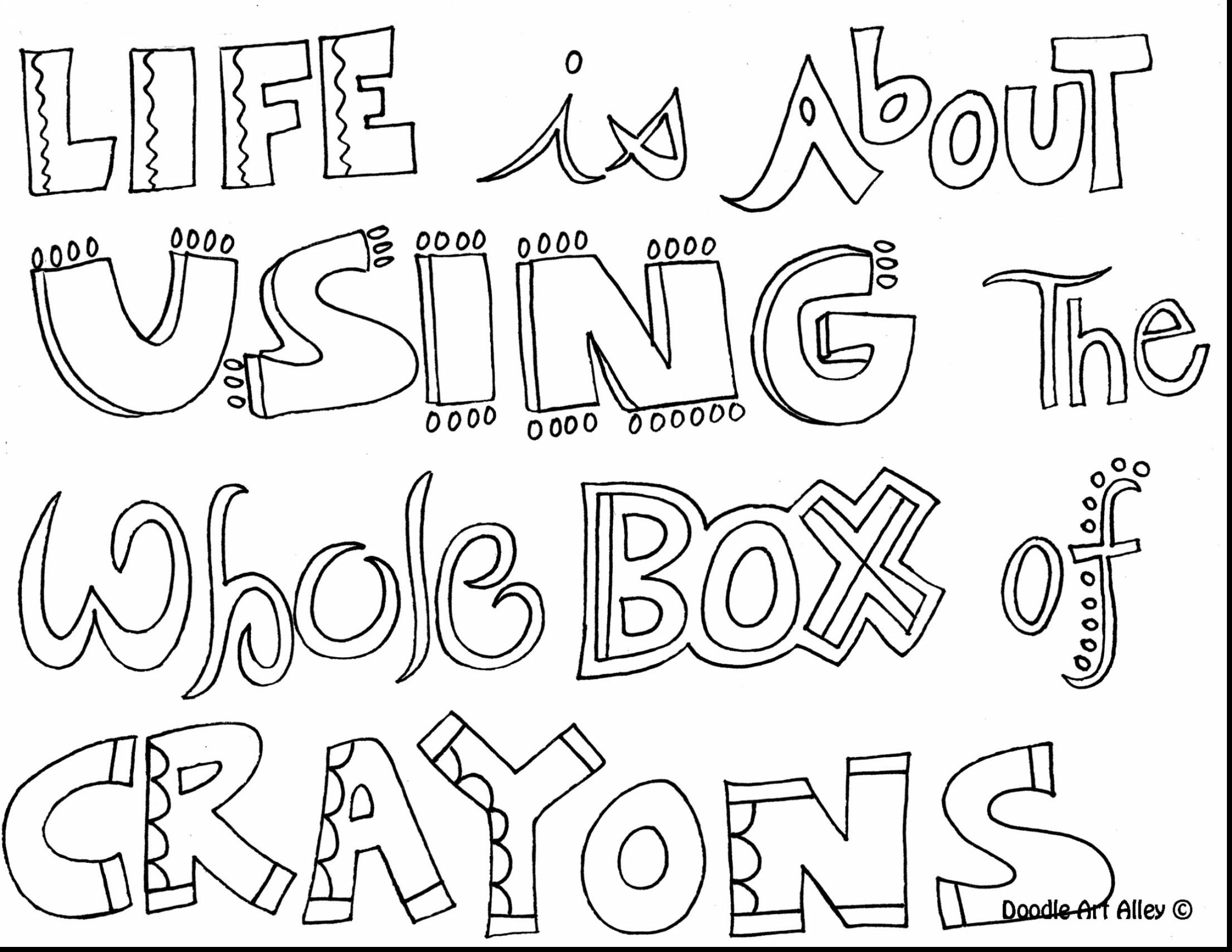 2420x1870 Printable Inspirational Quotes Coloring Pages
