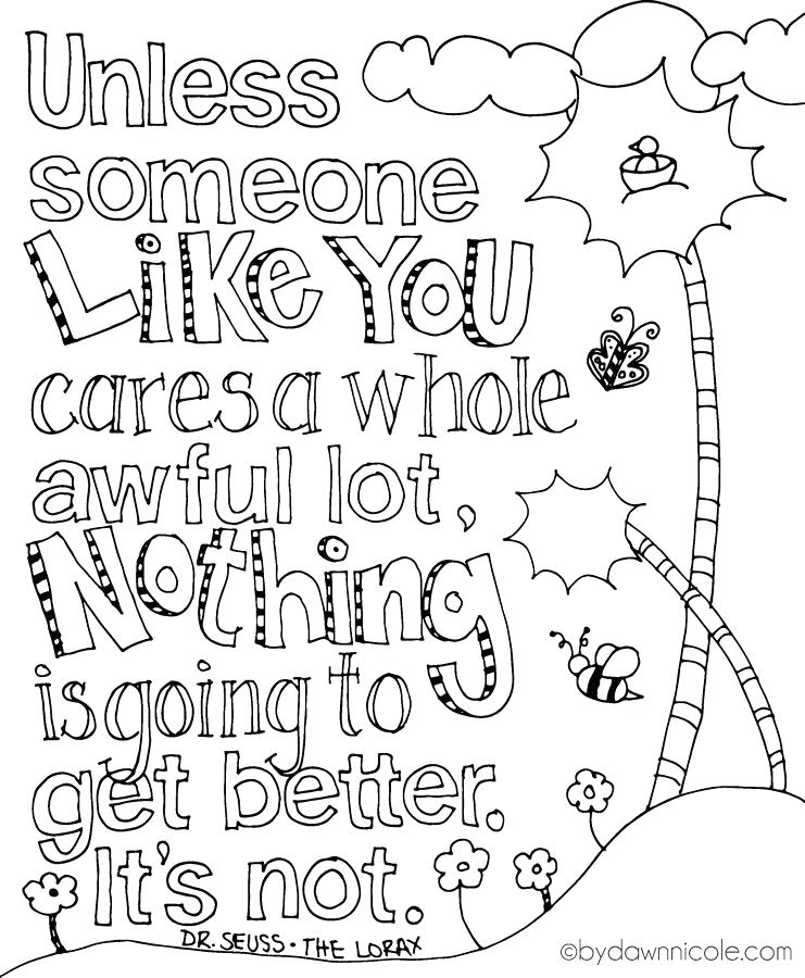 741x900 Quotes Coloring Pages Free Print Of The Week The Inspired Earth