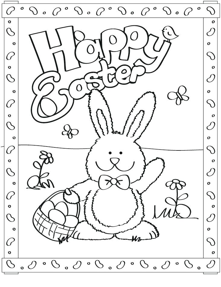 732x952 Cute Easter Bunny Coloring Pages Cute Bunny Colouring Pages Bunny
