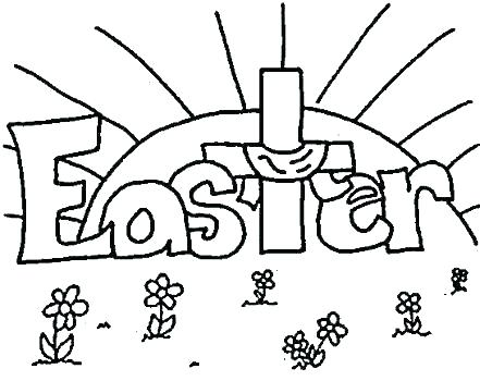 441x350 Preschool Easter Coloring Pages Printable Free Coloring Pages