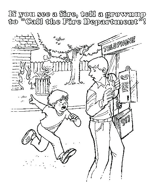 500x600 Halloween Safety Coloring Pages Safety Coloring Pages Safety
