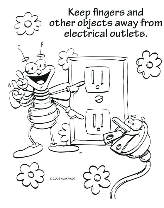 559x710 Safety Coloring Pages Safety Coloring Pages Awesome Pictures