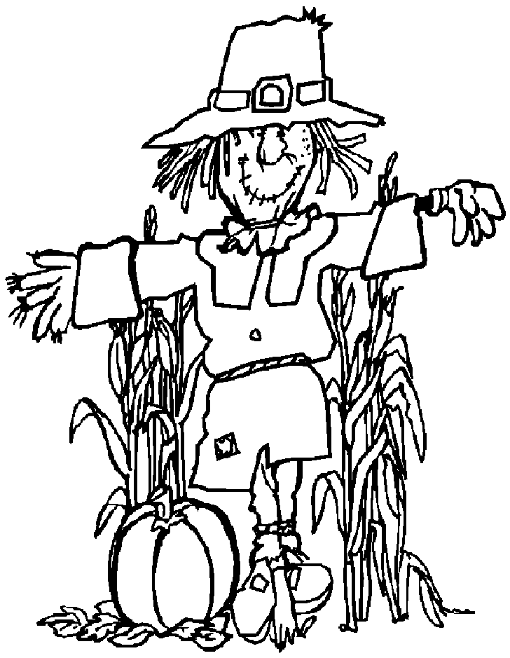 728x939 Printable Scarecrow Coloring Pages Az Coloring Pages Coloring
