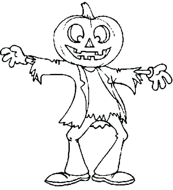 600x658 Scarecrow Coloring Page Scarecrow Coloring Page Scarecrow Coloring