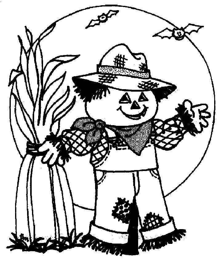 728x852 Scarecrow Printables Coloring Pages Free Printable Coloring Pages