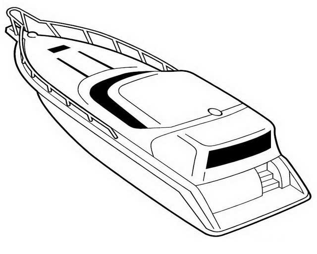 640x513 Printable Boat Coloring Pages Free Download