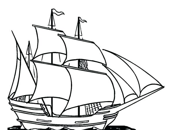 600x453 Ship Coloring Pages Free Viking Page Printable