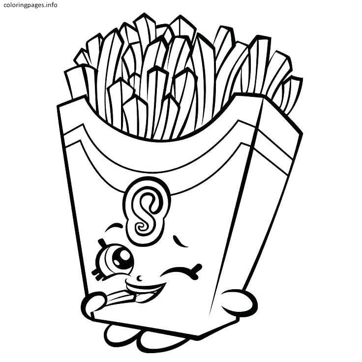 Free Shopkins Printable Coloring Pages At GetDrawings Free Download