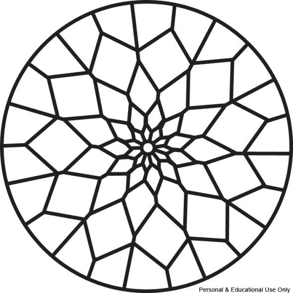 Free Simple Mandala Coloring Pages At Getdrawings Free Download