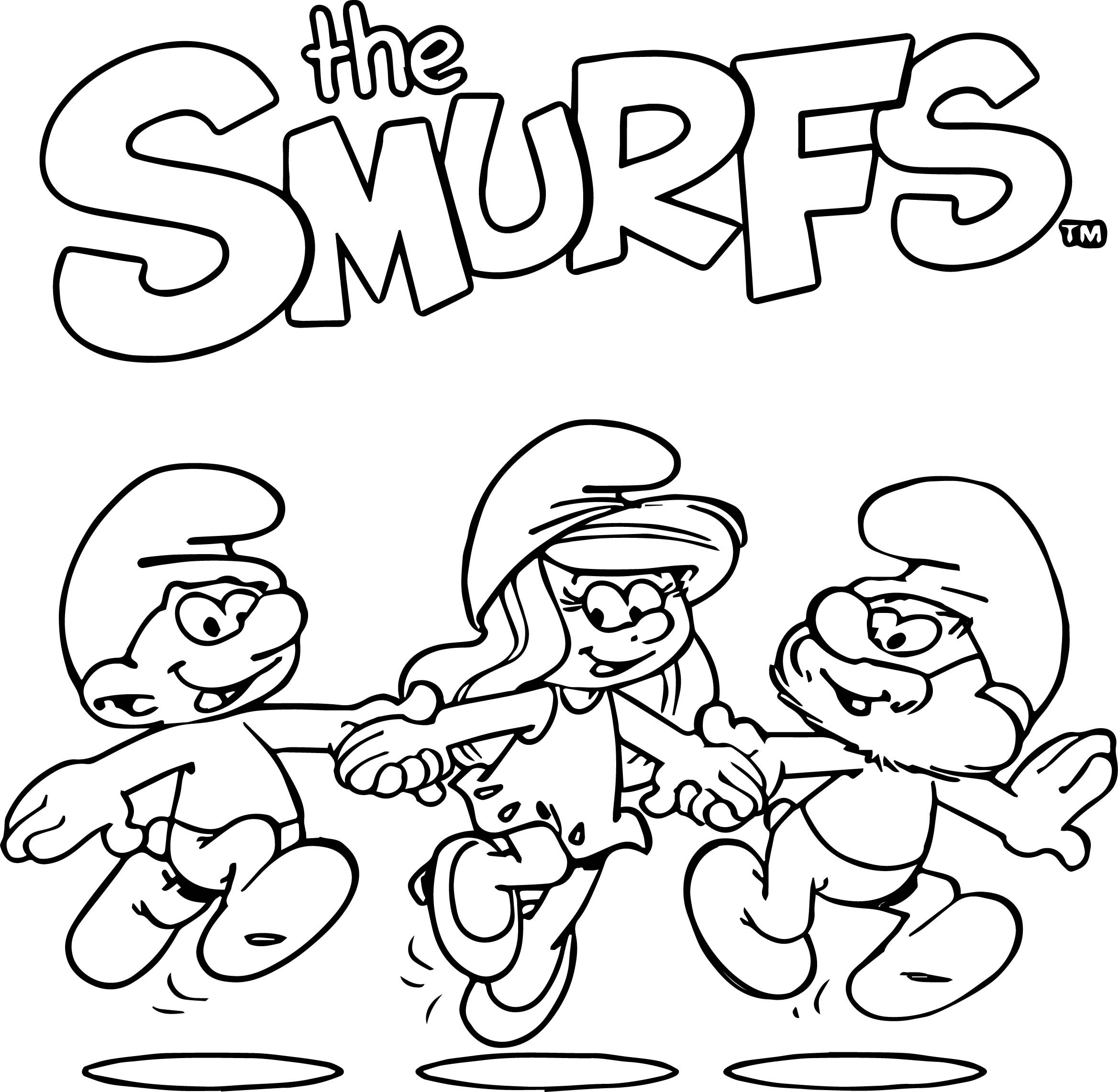 Free Smurf Coloring Pages at GetDrawings.com | Free for ...