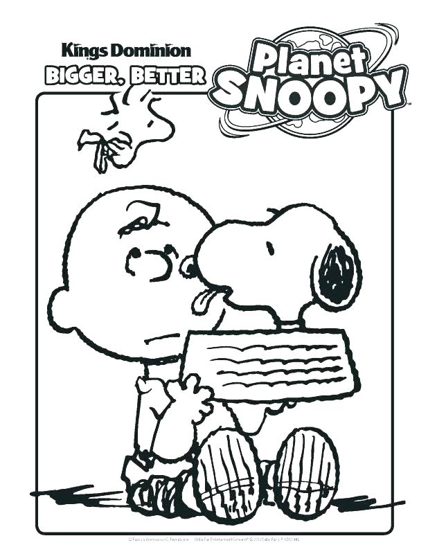 The best free Snoopy coloring page images. Download from 50 free ...
