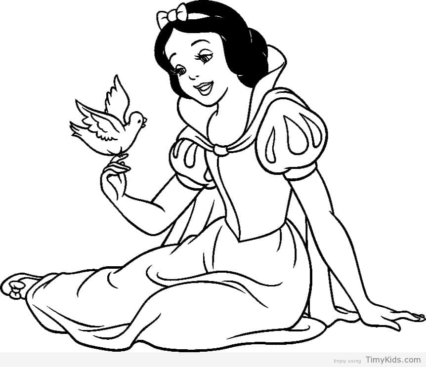 862x743 Colouring Pages Snow White Coloring Pages Snow White Timykids