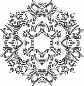 Free Snowflake Coloring Pages At Getdrawings Com Free For