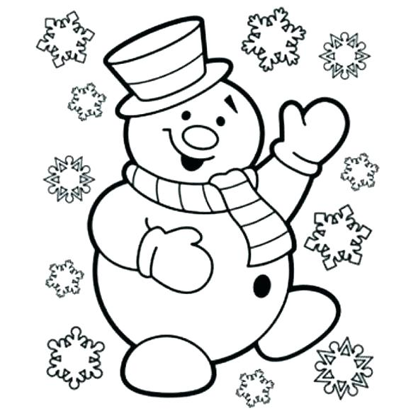580x580 Frosty The Snowman Coloring Frosty The Snowman Coloring Picture