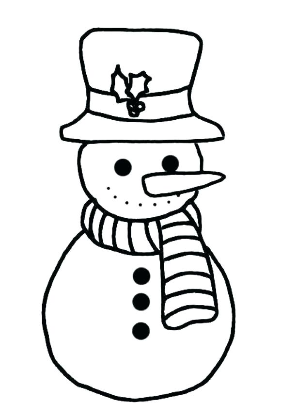 580x831 Snowman Coloring Pages How To Draw Snowman Coloring Page Snowman