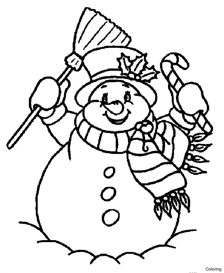 900x1096 Snowman Coloring Pages To Print Snowmen Free At Work