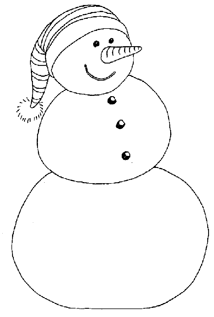 728x1078 Snowman Coloring Pages To Download And Print For Free
