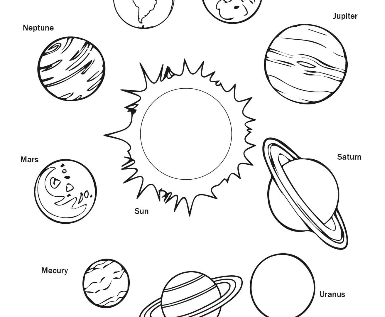 1312x1080 Fresh Solar System Coloring Pages Free Coloring Pages Download