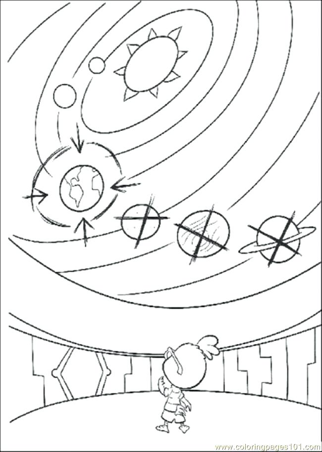 650x912 Printable Solar System Coloring Pages For Kids Solar System