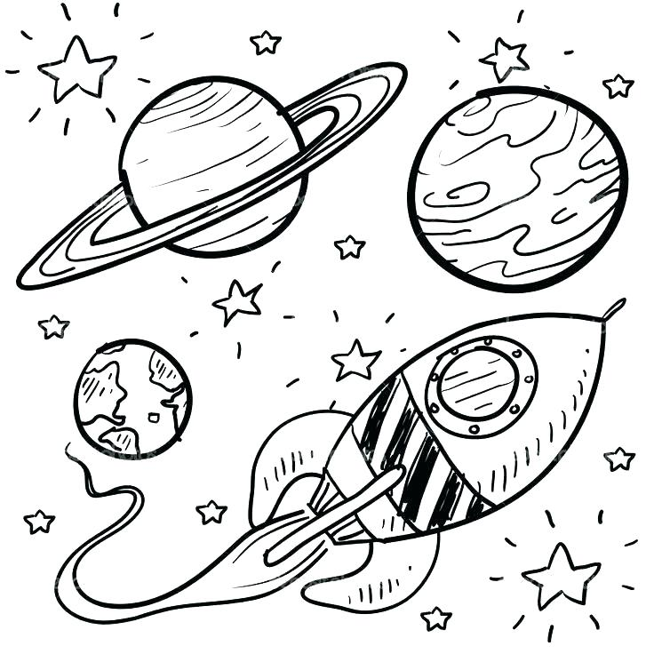 Solar System Coloring Pages Pdf At Getcolorings Com Free Printable