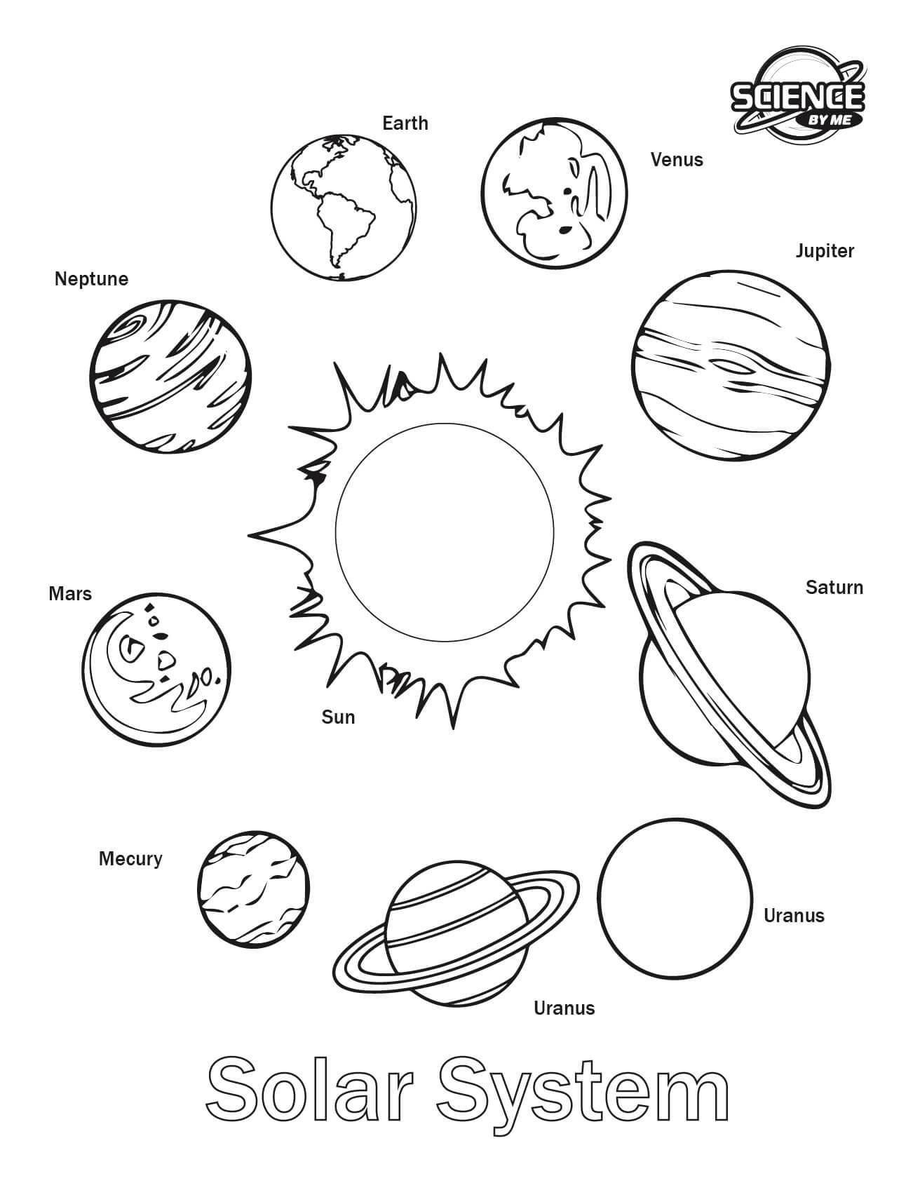 1312x1687 Solar System Coloring Pages