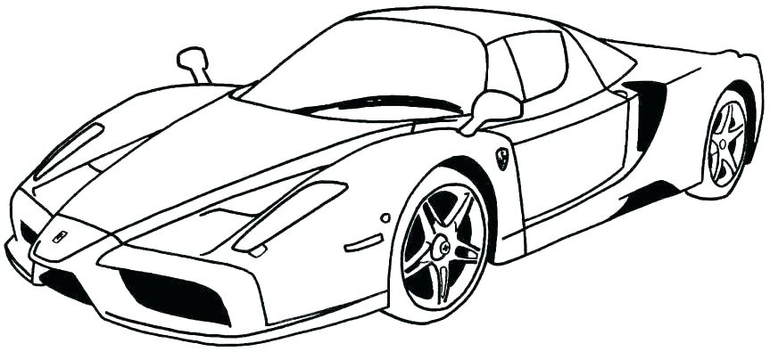 863x395 Free Sport Car Coloring Pages Race Car Coloring Pages Race Car