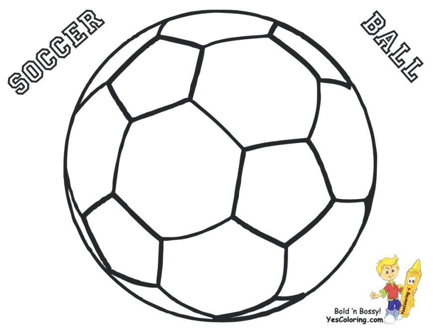 870x672 Sports Balls Coloring Pages Sports Coloring Page Printable Sports