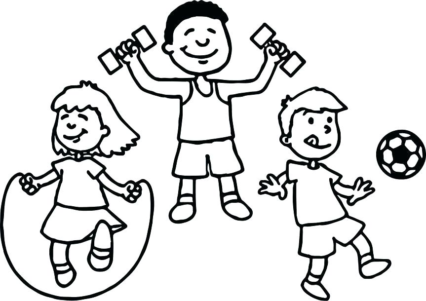 863x610 Sports Coloring Page Sports Coloring Pages Sports Coloring Pages