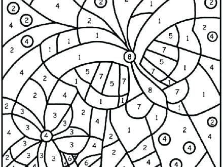 440x330 Printable Spring Coloring Pages Spring Coloring Pages