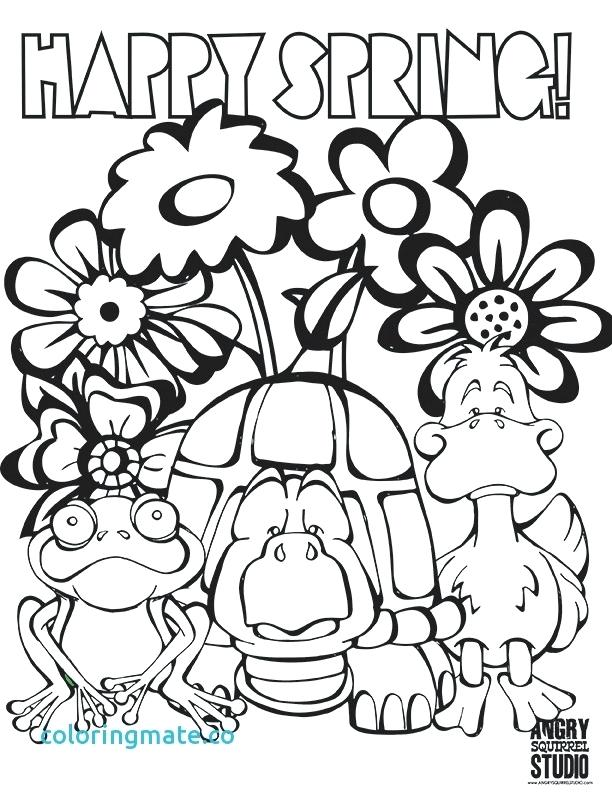 612x792 Free Printable Spring Coloring Pages Welcome Coloring Page Popular