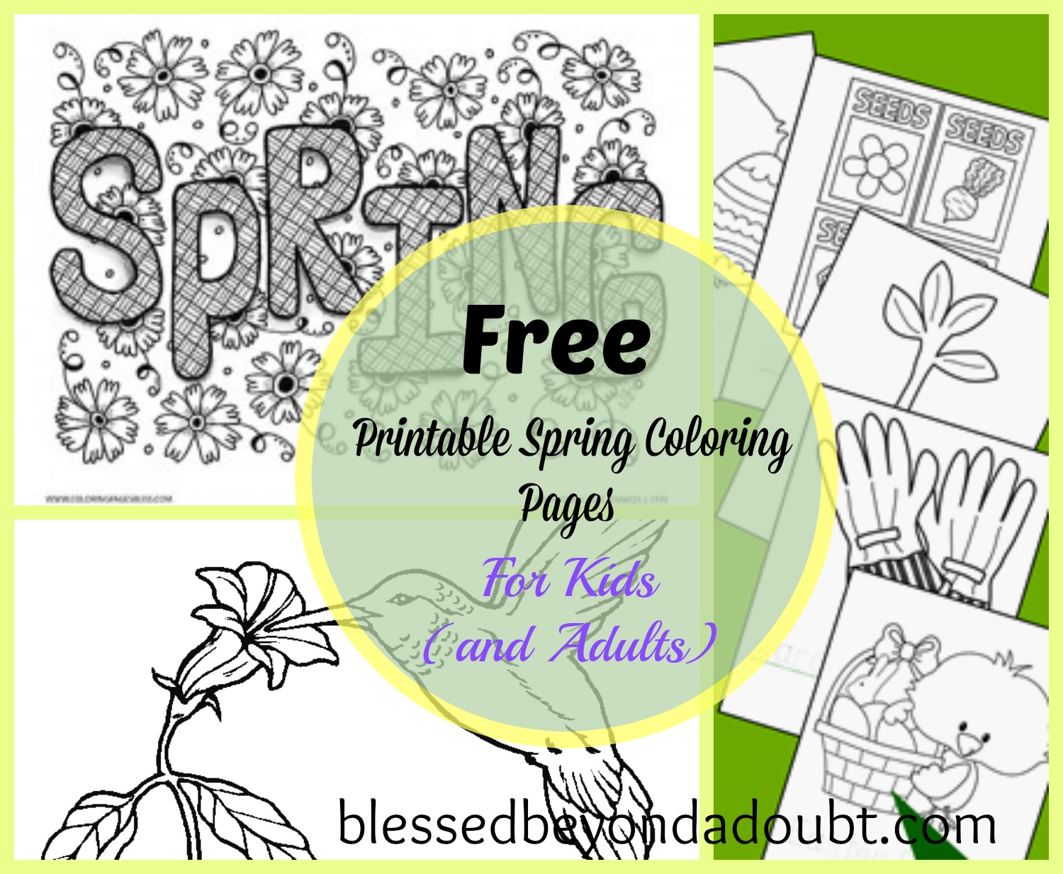 1500x1233 Exploit Free Printable Spring Coloring Pages
