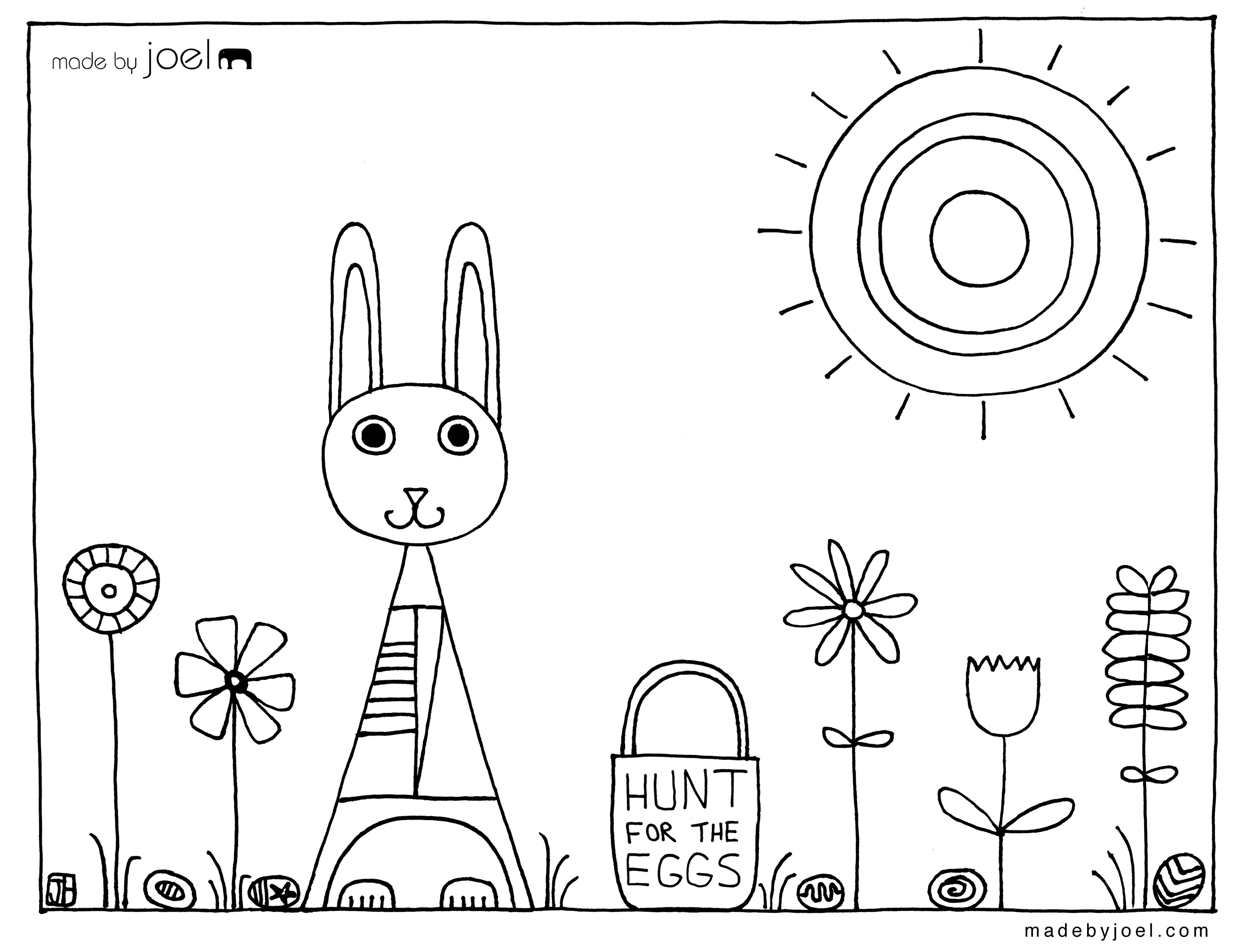 3335x2550 Easter Coloring Pages For Middle School Made Joel Easter Coloring