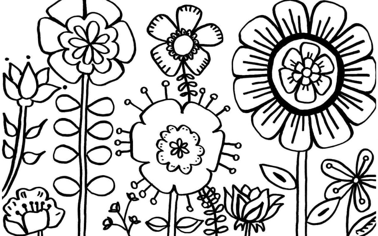 1280x800 Free Spring Coloring Pagesntable For And Summer Sheetsntables