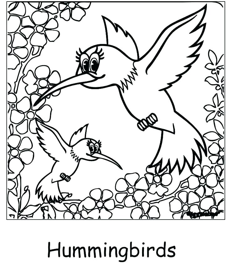 735x857 Daffodil Coloring Page