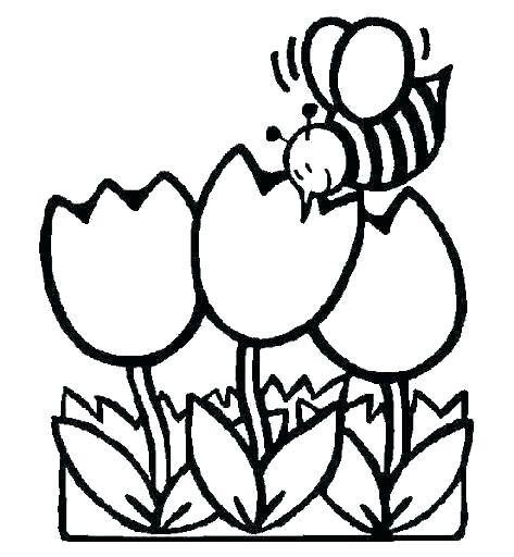 473x512 Free Coloring Pages Spring