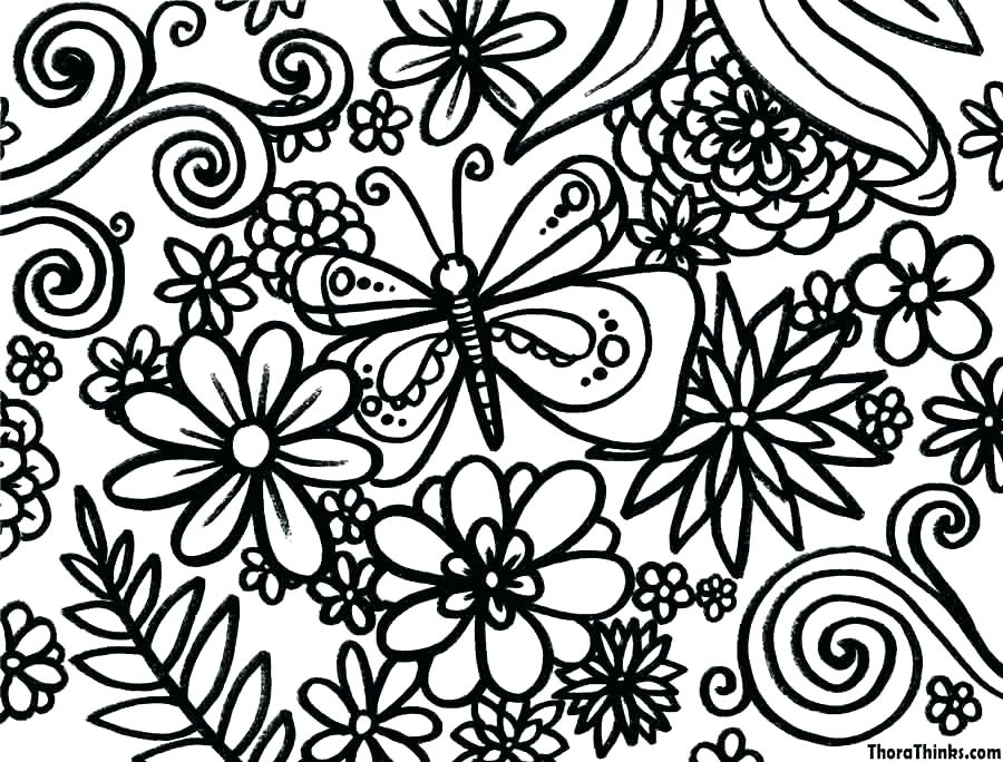 900x684 Free Spring Coloring Pages Wesmec Site