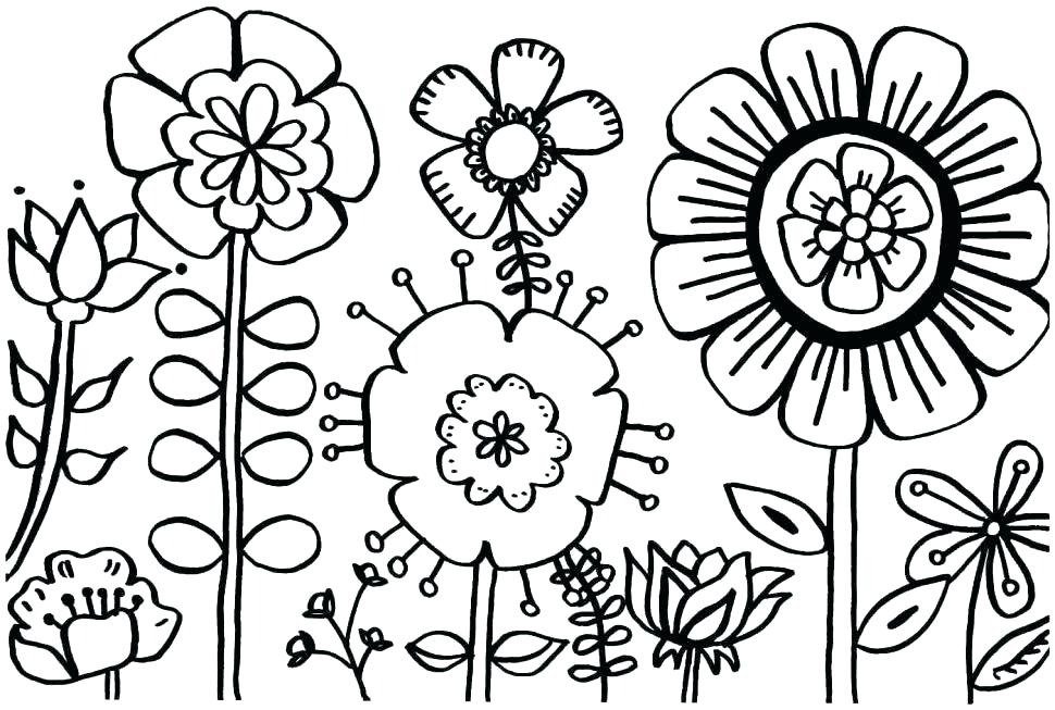 970x653 Free Spring Color Sheets Free Spring Coloring Pages With Holiday