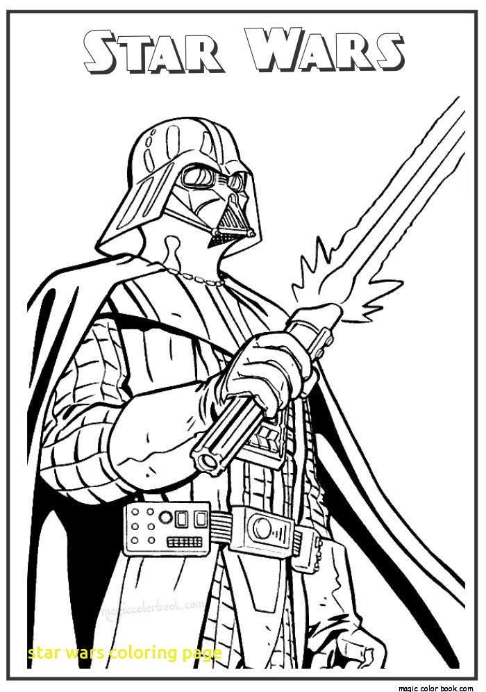 Free Star Wars Coloring Pages To Print At GetDrawings Free Download